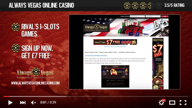 always vegas casino online flash